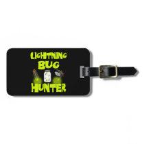 lightning bug hunter luggage tag