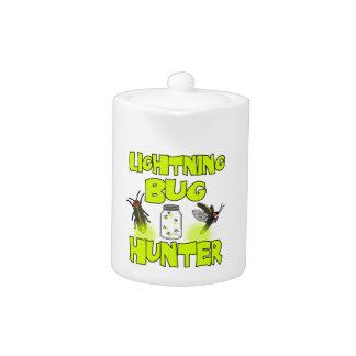 lightning bug hunter teapot