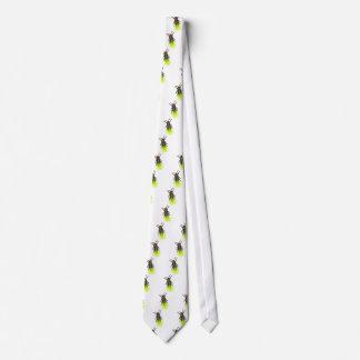 lightning bug lit tie