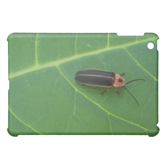 Lightning Bug on Leaf Case For The iPad Mini