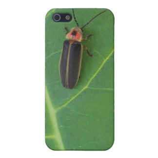 Lightning Bug on Leaf Covers For iPhone 5