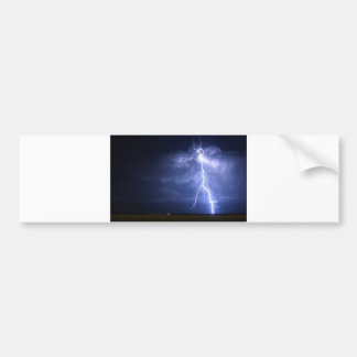 Lightning Bumper Sticker