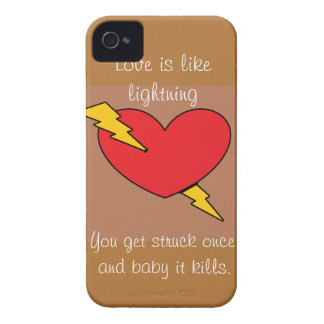 Lightning Case-Mate Case iPhone 4 Covers