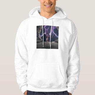 Lightning cat--kitty-pet-feline-pet cat -kittens hoodie
