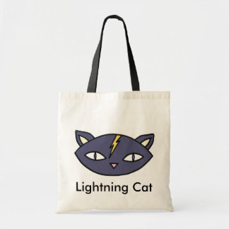 Lightning Cat Tote Bag