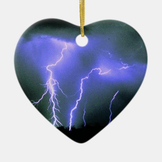 Lightning Charm Ornaments