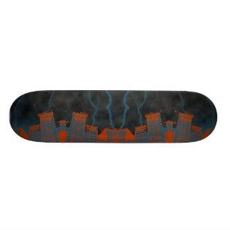 lightning city custom skate board