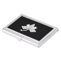 Lightning Crane Business Card Case