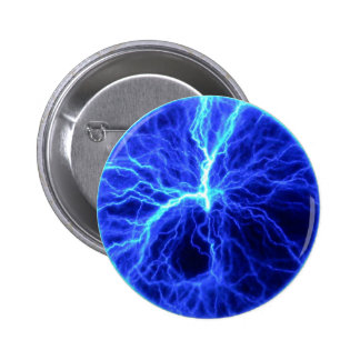 Lightning Creation Pinback Button
