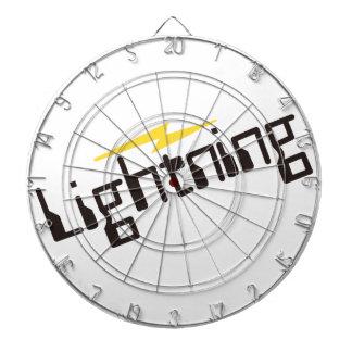 Lightning Dartboard With Darts