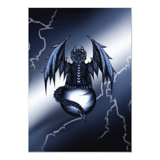 Lightning Dragon Card