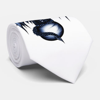 Lightning Dragon Tie
