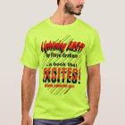 """""""Lightning Fast! Book"""" T-Shirt"""
