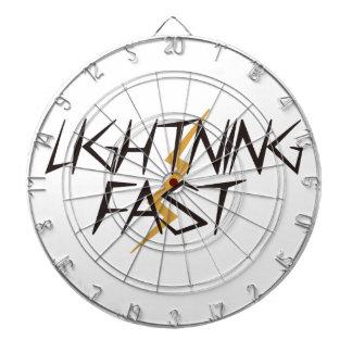 Lightning Fast Dartboard