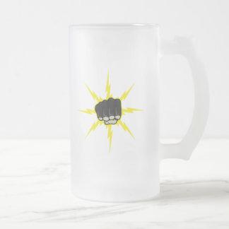 Lightning fist mugs