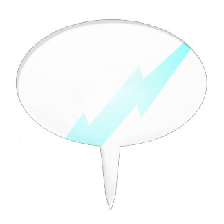 Lightning Flash Cake Toppers