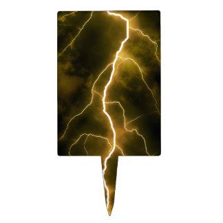 Lightning Flash Cake Topper