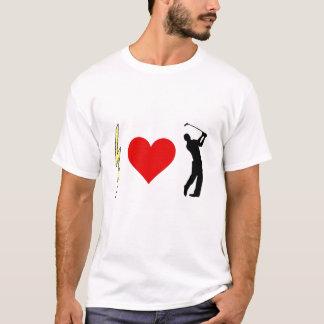 Lightning Heart Golfers T-Shirt