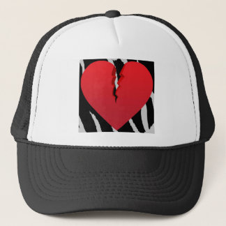 Lightning Heart Trucker Hat