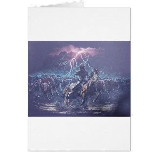 Lightning Herding Greeting Cards