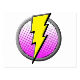 Lightning Hero Supplies Postcard