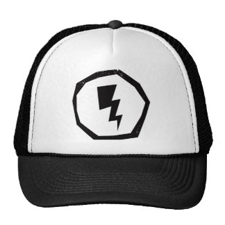 Lightning in Circle Trucker Hat