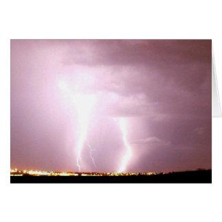 Lightning in Nebraska Card