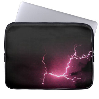 Lightning in the Dark Laptop Sleeve