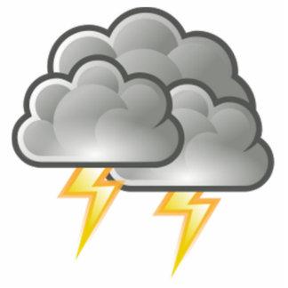 Lightning in Thunderstorm Statuette