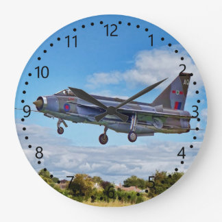 Lightning Jet Large Clock