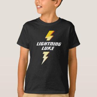 Lightning (L-Name) Custom Football T-shirt
