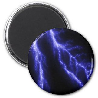 lightning fridge magnet