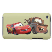 Lightning McQueen and Mater Barely There iPod Cover