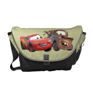 Lightning McQueen and Mater Messenger Bags