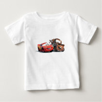 Lightning McQueen and Tow Mater Disney Baby T-Shirt