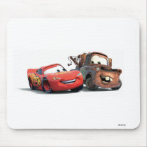 Lightning McQueen and Tow Mater Disney Mouse Pad