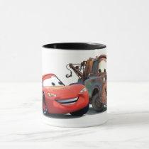 Lightning McQueen and Tow Mater Disney Mug