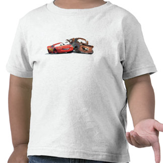 Lightning McQueen and Tow Mater Disney Shirts
