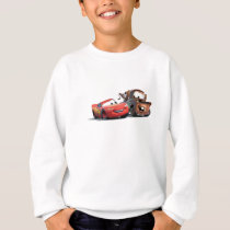 Lightning McQueen and Tow Mater Disney Sweatshirt