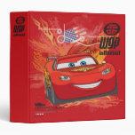 Lightning McQueen  - Piston Cup Champion Binders
