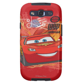 Lightning McQueen  - Piston Cup Champion Galaxy SIII Covers