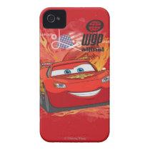 Lightning McQueen  - Piston Cup Champion iPhone 4 Case