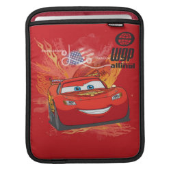 Lightning McQueen at World Grand Prix iPad Sleeve