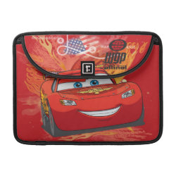 Macbook Pro 13' Flap Sleeve with Lightning McQueen at World Grand Prix design