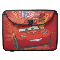 Macbook Pro 15' Flap Sleeve with Lightning McQueen at World Grand Prix design