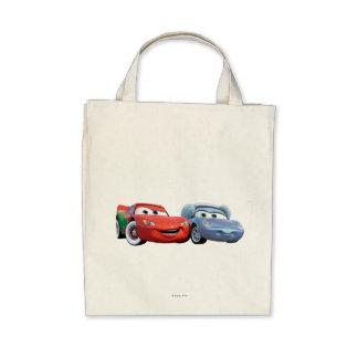 Lightning McQueen & Sally Canvas Bags