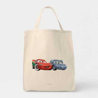 Lightning McQueen & Sally Tote Bag