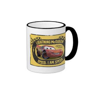 Lightning McQueen - Speed. I Am Speed Disney Ringer Mug