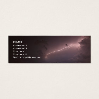 Lightning Mini Business Card