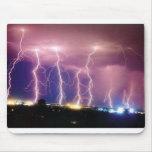 lightning mouse pad